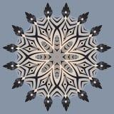 Mandala astratta, fondo di vettore Fotografia Stock