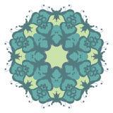 Mandala auf Hintergrund lizenzfreies stockbild