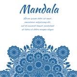Mandala azul Fotos de Stock