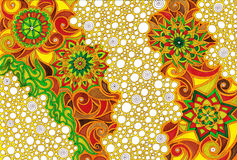 Mandala bąble Zdjęcie Stock