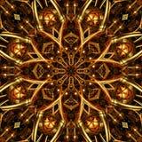 Mandala background. Abstract decorative mandala in the background Stock Photos