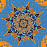 Mandala Background abstraite Photo libre de droits