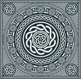 Mandala Background astratta illustrazione di stock