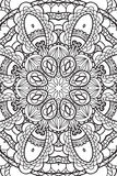 Mandala background. Ethnic decorative elements. Hand drawn . Royalty Free Stock Photo