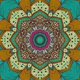 Mandala background. Ethnic pattern of round ornaments. Royalty Free Stock Photos