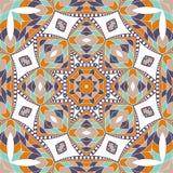 Mandala background. Ethnicity ornament. Stock Photo