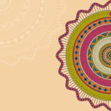 Mandala. Background with round ornament Royalty Free Stock Photo