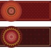 Mandala Banner Stock Image