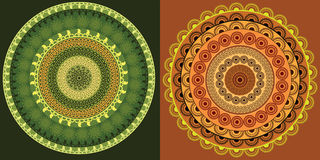 Mandala Banner Stock Photo