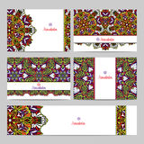 Mandala Banner Set Photographie stock