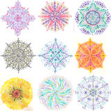 Mandala Batch II royalty illustrazione gratis