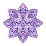 Mandala. Beautiful vintage round pattern. Vector illustration ethnic style Stock Photo