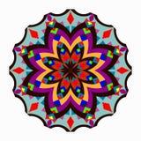 mandala bei elementi d'annata Illustrazione di vettore Fotografia Stock