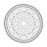 Mandala bella illustrazione di stock