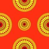 Mandala bezszwowy Fotografia Stock