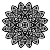 Mandala black Royalty Free Stock Photo