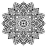 Mandala Black New Fotografie Stock Libere da Diritti
