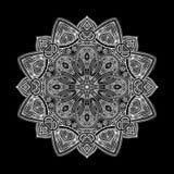 Mandala Black New 2 Immagini Stock Libere da Diritti