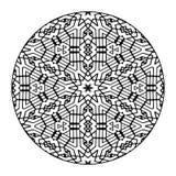 Mandala Black and White Stock Photography