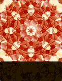 Mandala with blank banner Royalty Free Stock Images