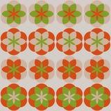 Mandala bloeit patroon Stock Afbeeldingen