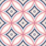 Mandala Blue Background complexe Image stock
