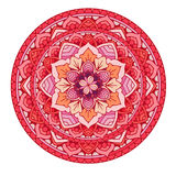 mandala Blumenmandalen eingestellt Bunte grafische Abbildung umreiß Muster Webartgestaltungselement Stockfotos
