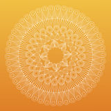 Mandala bohemic decorated rituals Stock Image