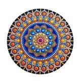 mandala bonita pintado à mão Imagem de Stock