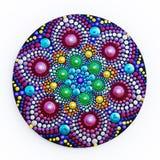 mandala bonita pintado à mão Foto de Stock Royalty Free