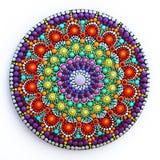 mandala bonita pintado à mão Imagens de Stock
