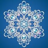 Mandala brooch jewelry, design element. Royalty Free Stock Photos
