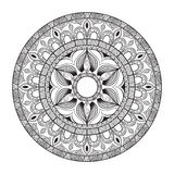mandala Círculo ornament Imágenes de archivo libres de regalías
