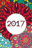 mandala 2017 Royalty Free Stock Photos