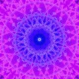 A mandala calidoscópico inspirou o teste padrão Imagens de Stock Royalty Free