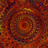 Mandala caliente de Digitaces Fotografía de archivo libre de regalías