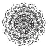 Mandala Card 5 Royalty Free Stock Images