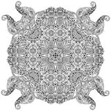 Mandala card Stock Images