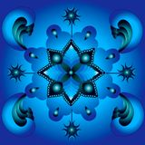 Mandala cardinal points Stock Images