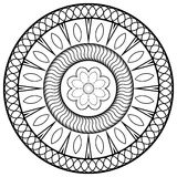 Mandala for children Stock Image