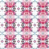 Mandala Chrysanthemum Flowers Card Fotografia Stock Libera da Diritti