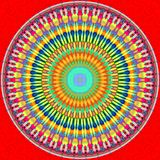Mandala circle Royalty Free Stock Photo