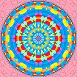 Mandala circle Stock Image
