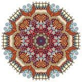 Mandala, circle decorative spiritual indian symbol of lotus flow Stock Photo
