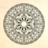 Mandala. Circle ornament. Royalty Free Stock Photo