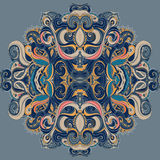 Mandala: Circle pattern, ornamental round lace Royalty Free Stock Image