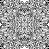 Mandala: Circle pattern, ornamental round lace Stock Image