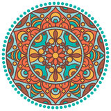 Mandala circle Royalty Free Stock Photo