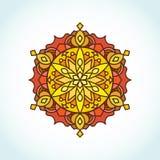 Mandala circulaire Images stock