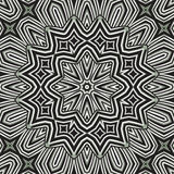 Mandala circular hermosa del fondo Imagen de archivo
